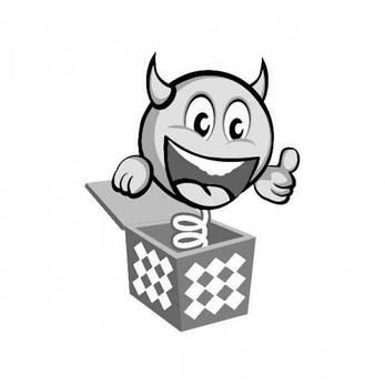 Бумажная гирлянда веерные вертушки (картон) 40см (фиолетовый 0021), фото 2