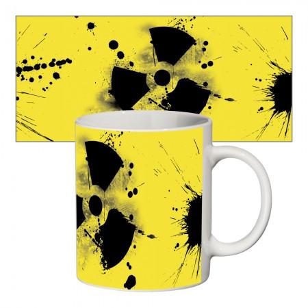 Кружка с крутым принтом 65604 Радиация