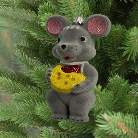 Новогоднее декоративное украшение для дома Мышонок 9312