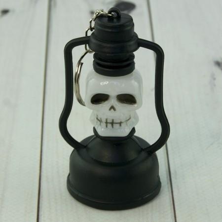 Оригинальный брелок хэллоуин в форме лампы Череп