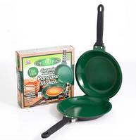Двухсторонняя сковорода для блинов и панкейков Ceramic Non Stick Pancake Maker. Блинница.Сковородка для блинов, фото 1