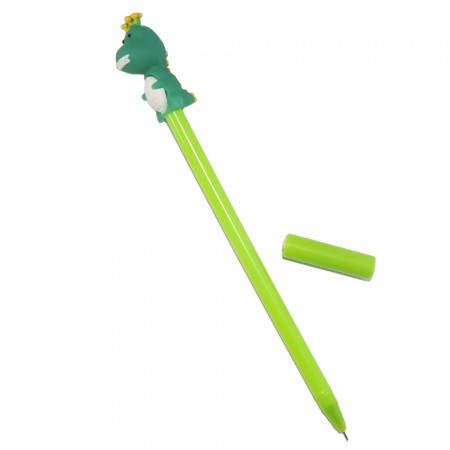 Оригинальная шариковая ручка в форме Динозаврик (зеленый), фото 2