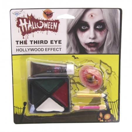 Театральный Краска грим для лица Хэллоуин с кровью, фото 2