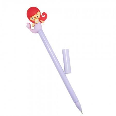 Оригинальная шариковая ручка в форме Русалочка (фиолетовая), фото 2