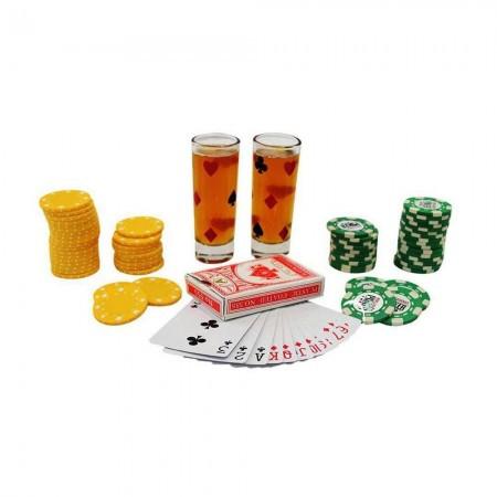 Игра с алкоголем для компании  Poker Drink
