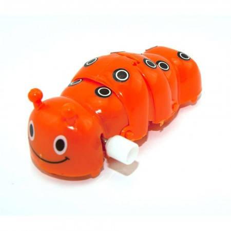 Заводная механическая игрушка для детей Гусеница, фото 2