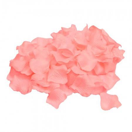 Набор лепестков роз для осыпания  (уп. 120шт) персиковые, фото 2