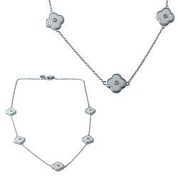 Серебряное колье GiftOne с керамикой (1579336) 800 размер