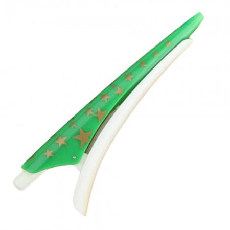 Оригинальная ручка в форме заколки для волос (зеленая), фото 2