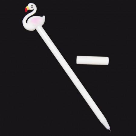 Оригинальная шариковая ручка в форме Фламинго (белая), фото 2