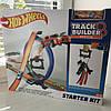 Hot Wheels Многовариантный переносной трек Track Builder Starter Kit, фото 5