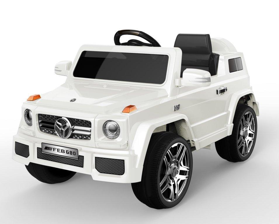 Детский электромобиль Джип Tilly WHITE