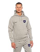 Футбольный костюм Сборной Франции, France, Nike, Найк, серый, с капюшоном