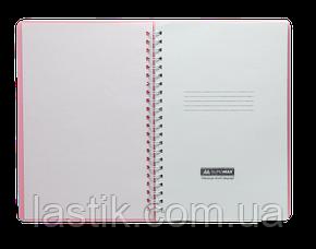 Тетрадь для записей FRESH, L2U, А5, 60 л., нелинов., бирюзовая, пласт.обложка, фото 2