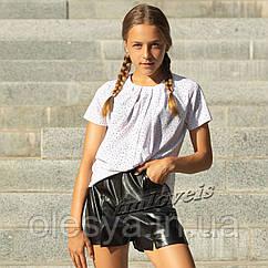 Школьная подростковая блузка Point тм Love is Размеры 140- 170