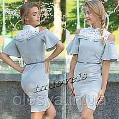 Стильное платье для девочек TM LOVEIS Ханна Размеры 140- 170
