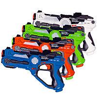 Набор из четырех интерактивных пистолетов для игры лазертаг GRAY STARLING, фото 1