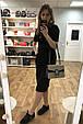 Сумка в стиле Гуччи Дионис / клатч реплика Гучи с подковой Черный, фото 2