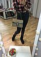 Сумка в стиле Гуччи Дионис / клатч реплика Гучи с подковой Черный, фото 8