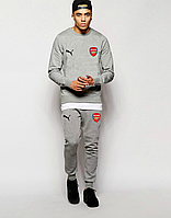 Футбольный костюм Arsenal, Арсенал, Puma, Пума, полностью серый