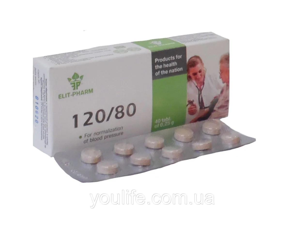 БАД 120/80  для нормализации давления Элит-фарм таблетки 40