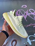 🔥 Кроссовки мужские спортивные повседневные Adidas Yeezy 350 V2 Butter (адидас изи буст баттер желтые), фото 2