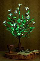 Светодиодное дерево Яблоня + белый цветок ( светильник )