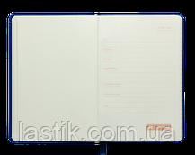 Блокнот деловой LOLLIPOP, L2U, А5, 96 л., клетка, бирюзовый, иск. кожа, фото 2