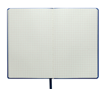 Блокнот деловой LOLLIPOP, L2U, А5, 96 л., клетка, бирюзовый, иск. кожа, фото 3
