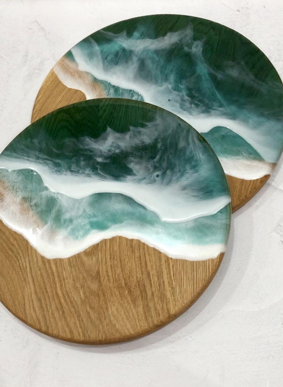 Дошка кругла —море