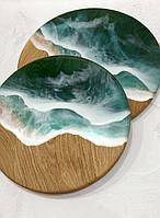 Дошка кругла —море, фото 1