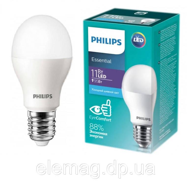 11W E27 6500K Светодиодная лампа Philips ESS LED Bulb