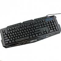 Игровая клавиатура Atlanfa M200 с RGB подсветкой Черный (005472)