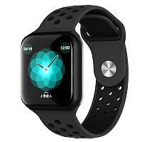 Смарт часы Smart Watch F8 Фитнес Трекер Черный (2005)