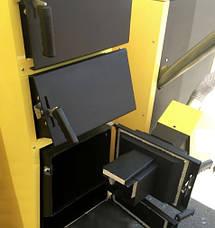 Универсальный твердотопливный котел КRONAS UNIC-P 35 кВт площадь обогрева помещения до 350 м2/ Кронас Уник P, фото 2