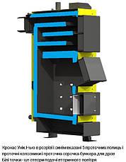 Универсальный твердотопливный котел КRONAS UNIC-P 35 кВт площадь обогрева помещения до 350 м2/ Кронас Уник P, фото 3