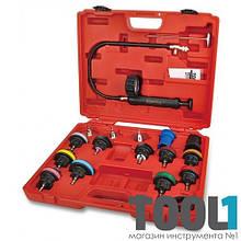Прибор проверки герметичности системы охлаждения TOPTUL JGAI1802