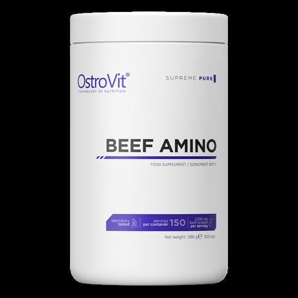 Амінокислоти Beef Amino OstroVit 300 таблеток