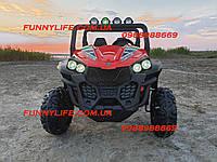 Детский двухместный электромобиль Джип Buggy (Багги) M 3454(2)EBLR-3(24V) красный | Дитячий електромобіль