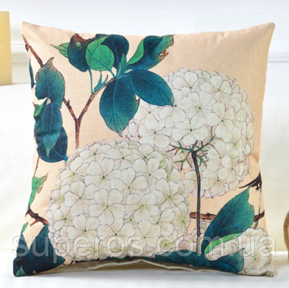 Декоративная подушка (наволочка) Коллекция Японский сад