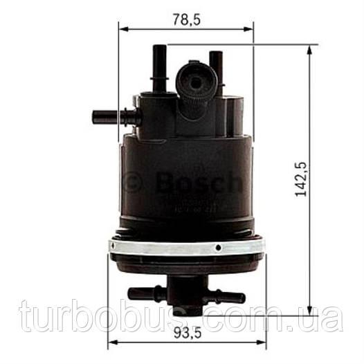 Корпус топливного фильтра Berlingo/Partner 2.0HDI (с-ма SIEMENS) metalcaucho MC03836