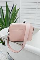 Сумка TINA пудрово-розового цвета Udler