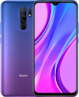 Смартфон Xiaomi Redmi 9 3/32GB Dual Sim Sunset Purple, 6.53 (2340х1080) IPS / Qualcomm Helio G80 / ОЗУ 3 ГБ / 32 ГБ встроенной + microSD до 512 ГБ /