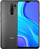 Смартфон Xiaomi Redmi 9 3/32GB Dual Sim Carbon Grey NFC_, 6.53 (2340х1080) IPS / Qualcomm Helio G80 / ОЗУ 3 ГБ / 32 ГБ встроенной + microSD до 512 ГБ