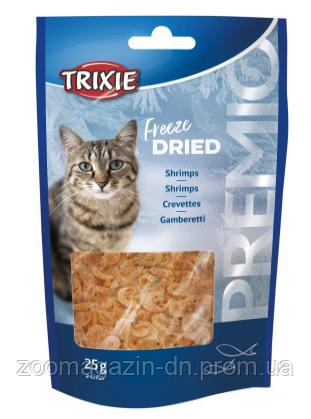"""Креветки сушеные для котов""""PREMIO"""",  Trixie , 25гр"""