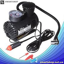 Автомобильный компрессор Air Pomp Ji030 250 PSI - Мощный Автокомпрессор для быстрой подкачки колес, фото 3