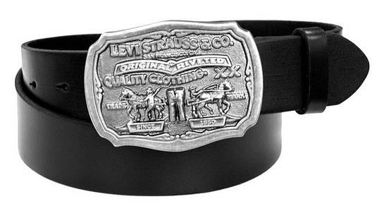 Ремень Levi's Men's 40mm Leather Antique Buckle Belt