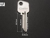 MOG-1D заготовка ключей, фото 1