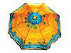 Пляжный зонт с наклоном 180см, солнцезащитный зонт с креплением спиц Ромашка, фото 3