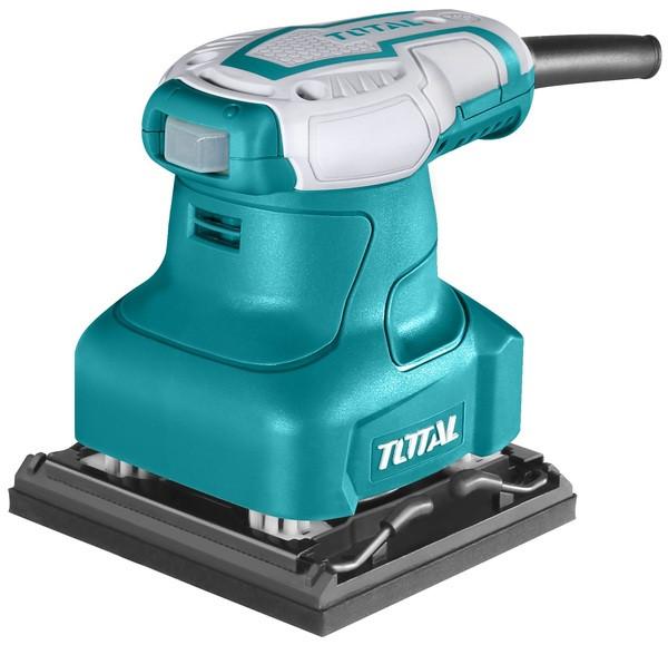 Шлиф.маш. TOTAL TF2231106 вибрационная, 240Вт, 100х110мм.
